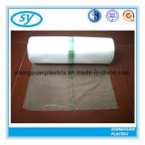 Perforated полиэтиленовые пакеты качества еды на крене