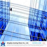 4m m, 5m m, 6m m, 8m m. 10m m, 12m m claro/teñieron el vidrio reflexivo de Toughed para el edificio