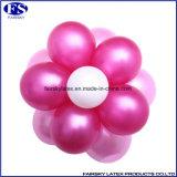 Rosa 10 Zoll Perlen-Farbe Latex Free Samples Balloons