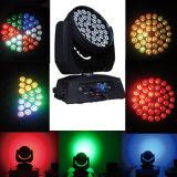 36PCS*10W LEDのフルカラーの移動頭部