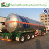 De Aanhangwagen van de Tankwagen van LPG van het Vervoer van de Brandstof van het Aluminium van het staal
