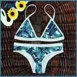 Costume da bagno sexy dello Swimwear del bikini di modo di modo di sublimazione per la signora