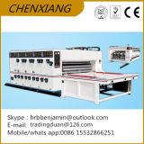 Impresora de cadena Slotter de Flexo del alimentador para la máquina de fabricación de cartón acanalada
