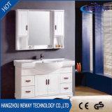 Vanité faite sur commande commerciale en bois moderne de salle de bains avec le miroir