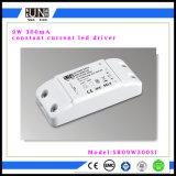300mA LED 9W Downlight LED de alimentación, energía, pasa EMC Controlador de LED de alimentación, el controlador de LED de 24V.