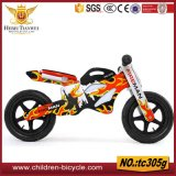 Bici dell'equilibrio dei capretti dei bambini/biciclette di legno d'acciaio personalizzate specifiche dell'equilibrio per la bici del regalo