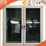 Superior importés de bonne qualité de la fenêtre à battant en bois massif, l'intérieur en bois avec fenêtre en alliage aluminium extérieur