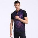 Hot Design Summer Custom Fit Business Hommes Coton Polo T-Shirt pour Homme