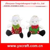 Décoration de Noël (ZY14Y684-1-2) Ovins Décoration de Noël
