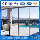 Vetro laminato del rivestimento della polvere che fa scorrere portello e finestra di alluminio