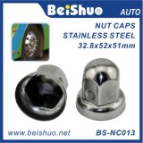 Coperchio della noce del richiamo della rotella dell'acciaio inossidabile di Beishuo 33mm - spingere sopra
