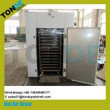 O ar quente alimentos em aço inoxidável máquina de secagem de frutas de produtos hortícolas