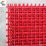 Красная сетка волнистой проволки для минирование