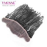 Yvonne Wholesale rizado rizado cabello virgen brasileño frontal encaje