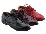 جديدة جدي بنت فتى يربط [بو] فوق [ستريدر] مدرسة ليّنة حذاء حذاء