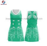 Netball команды Bodysuits форм Cheerleading рубашки полиэфира Spandex OEM нового продукта изготовленный на заказ
