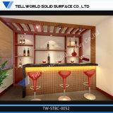 Tw новая конструкция акриловый угловой бар кабинет мебель