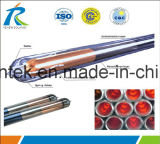Meilleures ventes 58*1800mm Solar évacué le tube dans le marché de l'Inde