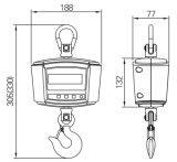 Protection de surcharge de la conception d'étanchéité de l'échelle de grue OCS Portable