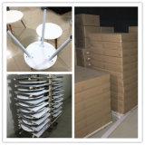 Haut de chaises en bois MDF de plein air et table à manger fixe