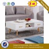 Самомоднейший живущий журнальный стол стороны мебели комнаты (UL-MFC030)