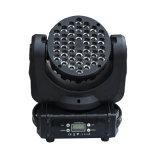 36*3W 4 in 1 indicatore luminoso capo mobile del fascio di RGBW LED per effetto della luce professionale di intrattenimento della fase DJ/Bar/Home