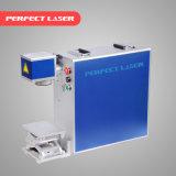 Gravure laser de vol en ligne de machine de métal