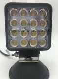 Hohe Leistung IP68 imprägniern Punkt 48W/Flut Epistar LED Arbeits-Licht (GT1015-48W)