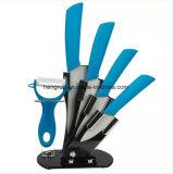 Farben-keramisches Messer-Set der Küchenbedarf-Qualitäts-5PCS