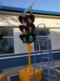 Luz de advertência de piscamento vermelha solar do tráfego da boa qualidade de preço de fábrica