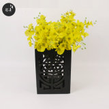 Preiswerter gute Qualitätshölzerner Tealight Kerze-Halter/Vase