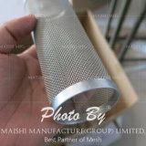 201/202/304/316/316L het Netwerk van de Draad van het Roestvrij staal van de filter