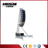 Línea elevación del soporte del braguero de la torre del altavoz del altavoz del arsenal