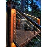 Рельсы лестниц нержавеющей стали Railing балкона балюстрады нержавеющей стали