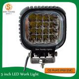 Lumière 48W de travail du CREE DEL 4 pouces pour la lumière de travail d'utilisation de fonctionnement de chariot élévateur de camion