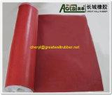 Red Butadieno Estireno Borracha/tapete de borracha vermelha/Folha de borracha vermelha