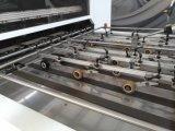 Halbautomatische stempelschneidene und faltende Hochgeschwindigkeitsmaschine mit entfernendem Gerät