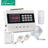 Sistema di allarme antifurto dell'interno dello schermo GSM+Wireless del LED per obbligazione domestica