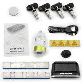 Hete het Verkopen ZonneMacht Interne TPMS met LCD Vertoning voor de Controle van de Druk en van de Temperatuur