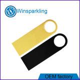 Бесплатный логотип Silver Gold USB флэш-памяти диска пера