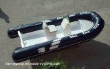 Bateaux militaires de côte de Liya 4.3m-5.2m avec les bateaux gonflables de fibre de verre d'engine