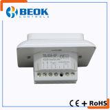 termóstato eléctrico insertado pared de la calefacción 220V con la certificación del Ce