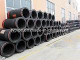 Resisten el desgaste PE 100 dragar el tubo de transporte de lodos