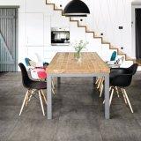 Mattonelle di pietra concrete di legno della parete e di pavimento della porcellana delle mattonelle (OTA604-COAL)