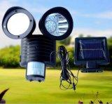 Indicatore luminoso solare capo gemellare di obbligazione Fq-N104, indicatore luminoso del LED con il sensore