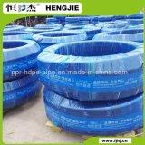 Qualität schwarzes HDPE umwickelt Rohr für Wasserversorgung