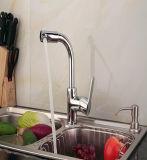 Mélange chaud/froid All-Copper tournent d'eau du robinet de cuisine du bassin de compteur