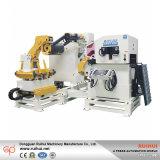 Alimentatore d'acciaio della bobina del metallo dell'alimentatore della bobina dell'alimentatore del raddrizzatore di Decoiler (MAC4-600)