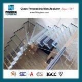 Vidro laminado antiderrapagem interior moderno Piso da Escada