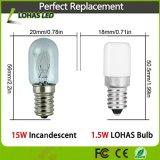 1.5W E14 2700K LED Nachtbirne für kleine Haushaltsgeräte